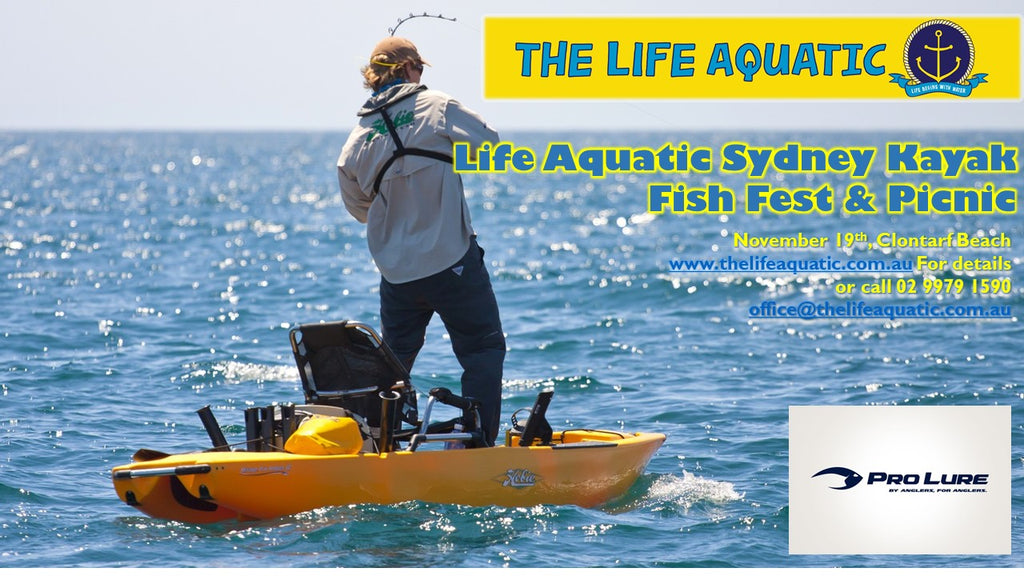 Sydney Kayak Fish Fest - November 19th, Clontarf.
