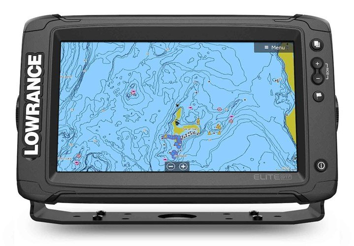 FISHFINDER ELITE-9 TI2 AUS/NZ AI 3-IN-1