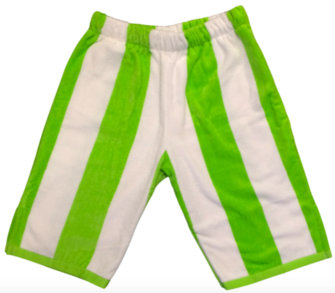 Broad Kermit Shorts Made From A Towel