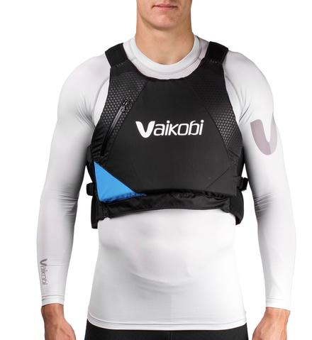 VX PERFORMANCE PFD- BLACK/ CYAN