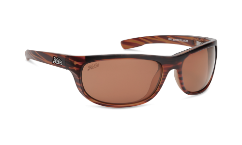 CRUZ SATIN BROWN POLYCARBONATE LENS
