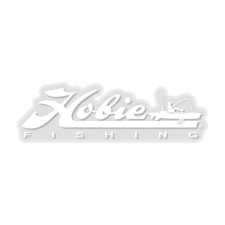 DECAL 12 HOBIE-FISHING WHITE