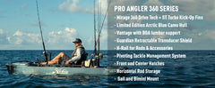 Hobie Pro Angler 12 with 360 Drive Technology