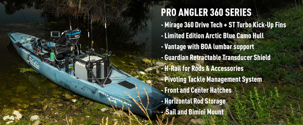 Hobie Pro Angler 14 with 360 Drive Technology