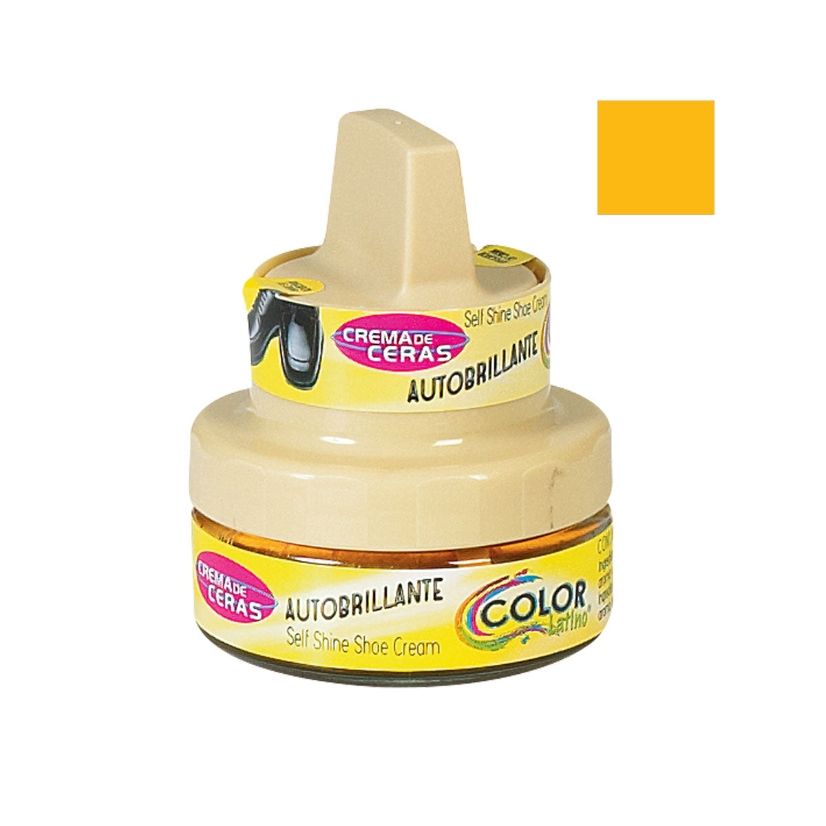 CREMA AUTOBRILLANTE 50 ml COLOR MANTEQUILLA