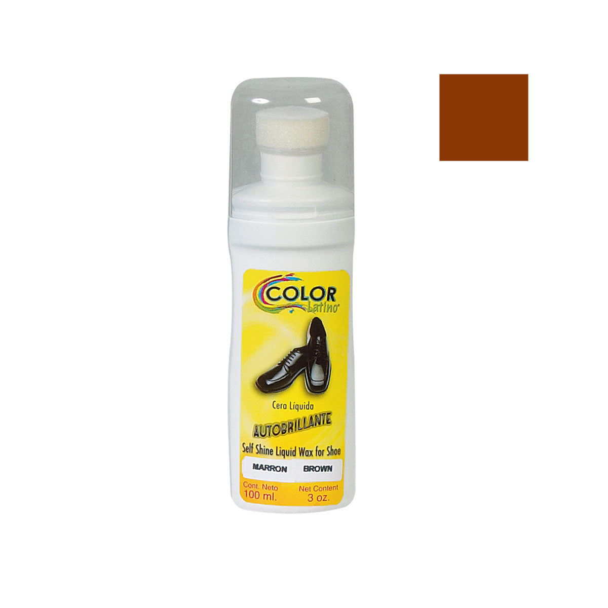 CERA LIQUIDA AUTOBRILLANTE 100 ml COLOR:MARRON/BROWN