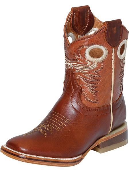Kid's Rodeo Leather Boot Shedron