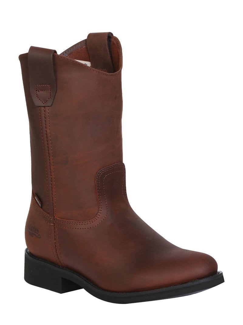 "Men's Work Boot Establo Leather Brown /  ""Bota Establo Para Trabajo"""
