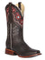 42981 BOTA RODEO DAMA EL GENERAL PIEL BOVINO CRAZY CHOCO