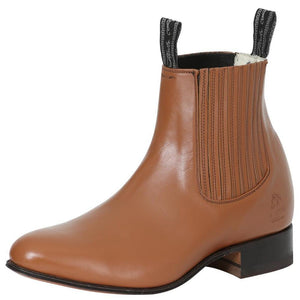 Maple rounded toe men ankle boots