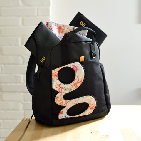 gBackpack and accessories
