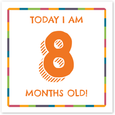 Free printable milestone cards! | gDiapers