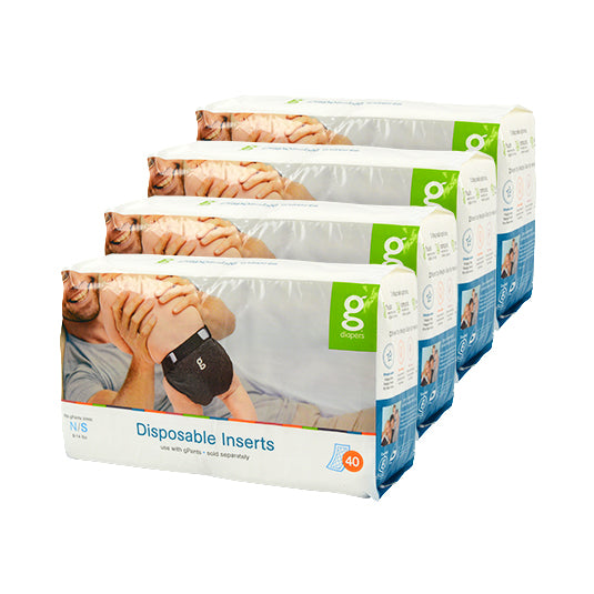 Disposable Inserts Case (4-pack)