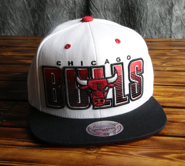 Chicago Bulls Mitchell & Ness Home Stand Liner Snapback Hat