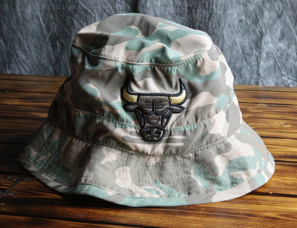 Chicago Bulls Mitchell & Ness Ambush Bucket Hat