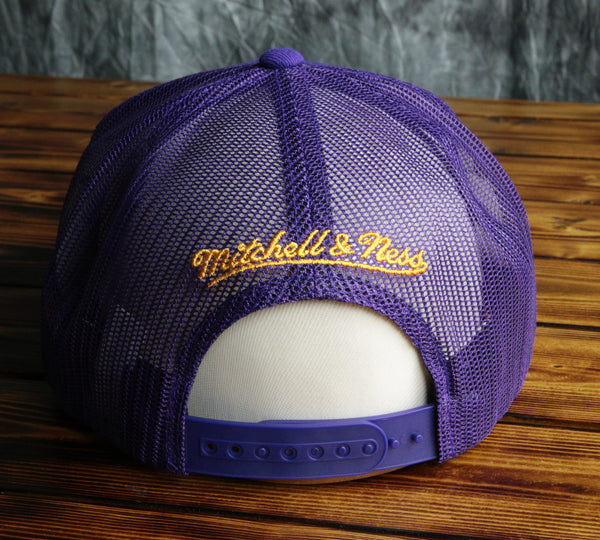 Los Angeles Lakers Mitchell & Ness 1988 Championship Snapback Hat