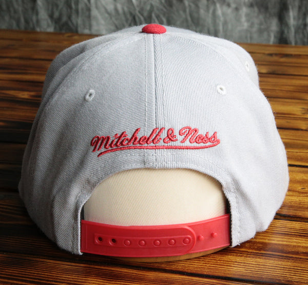 Chicago Bulls Mitchell & Ness NBA Custom Color Snapback Hat