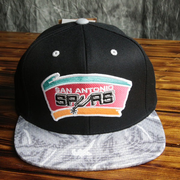 San Antonio Spurs Mitchell & Ness NBA 50th Snapback Hat