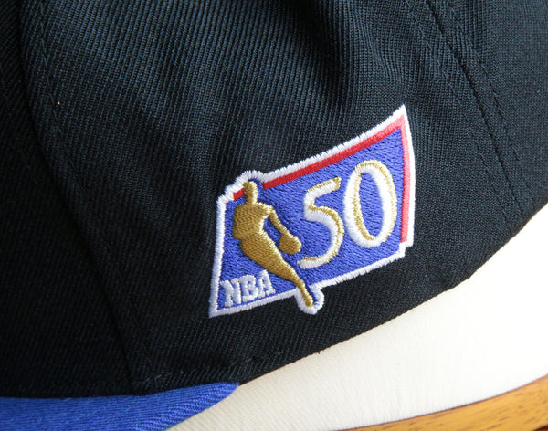 New York Knicks Mitchell & Ness 50th Anniversary Snapback Hat