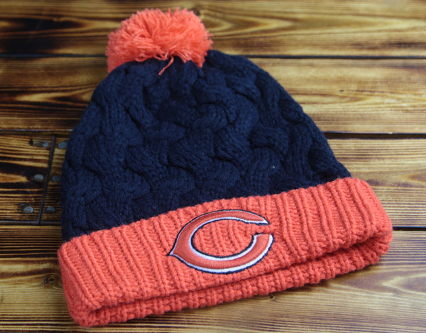 Chicago Bears 47'brand Womens Team Pom Knit