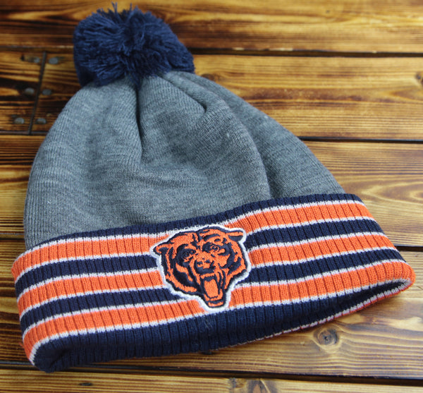 Chicago Bears Mitchell & Ness Multi Team Colors Cuffed Knit Hat