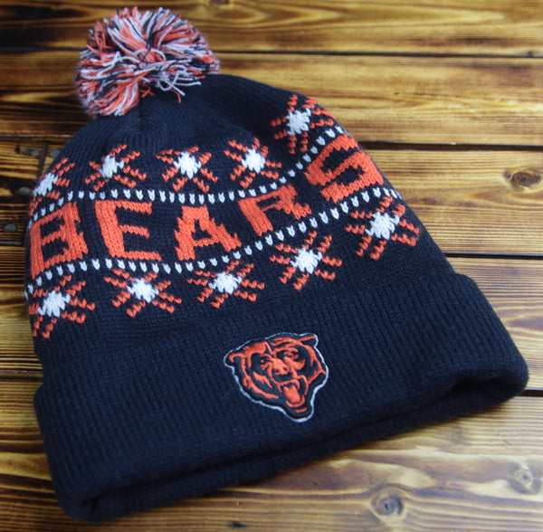 Chicago Bears 47' Brand Tip Off Knit Hat