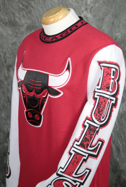 Chicago Bulls Mitchell & Ness Excessive Celebration Sweatshirt
