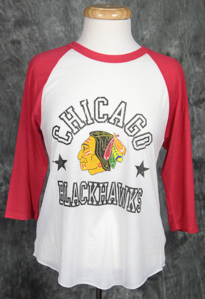 Chicago Blackhawks Mitchell & Ness Down to the Wire Henley