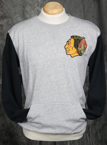 Chicago Blackhawks Mitchell & Ness Team to Beat Sweatshirt