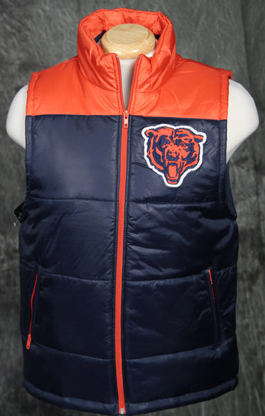 Chicago Bears Mitchell & Ness Winning Team Vest
