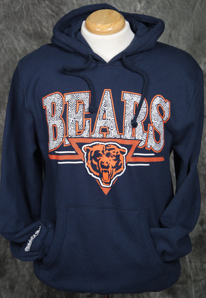 Chicago Bears Mitchell & Ness Abstract Vibes Pullover Hoody