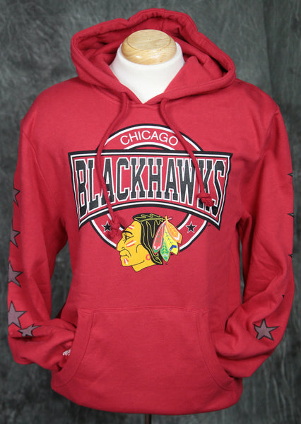 Chicago Blackhawks Mitchell & Ness Down to the Wire Pullover Hoody
