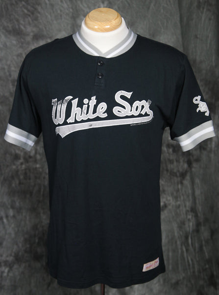 Chicago White Sox Mitchell & Ness Game Ball S/S Henley Shirt