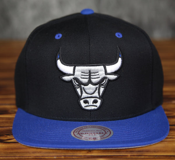 Chicago Bulls Mitchell & Ness Sport Blue Strapback Hat