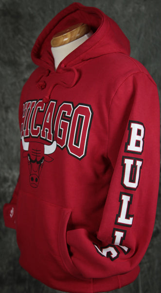 Chicago Bulls Mitchell & Ness Visiting Team Pullover Hoody