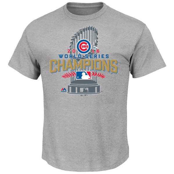 Chicago Cubs Majestic 2016 World Series Champions Locker Room T-Shirt