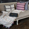 Aisley Cool Stripe Throw Blanket