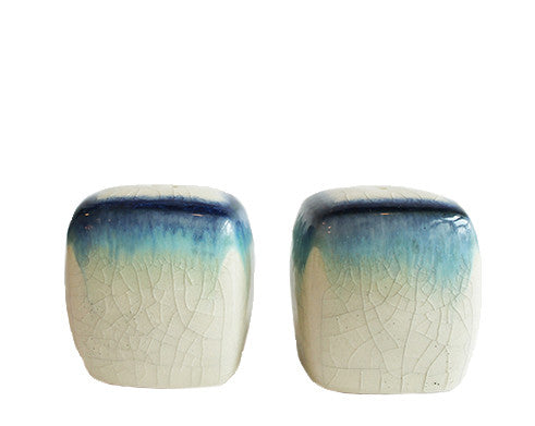 Blue Ombre Salt & Pepper Shakers