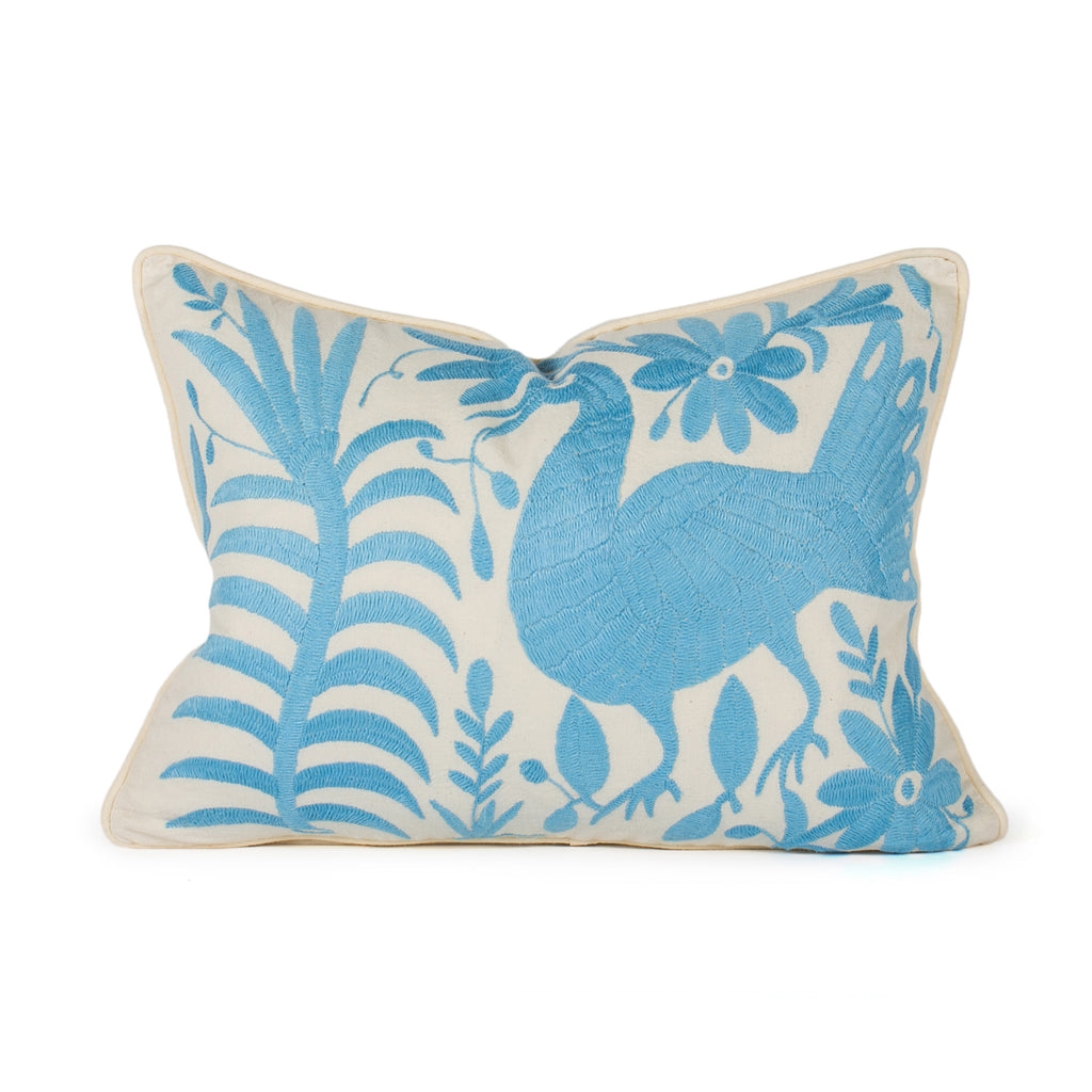 Bright Blue Otomi Pillow