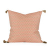 Carmela Woven Tasseled Pillow Front