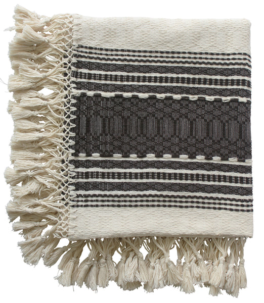 Cassil Brown Woven Throw