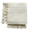 Cream Cassil Woven Throw