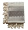 Cassil Taupe Woven Throw