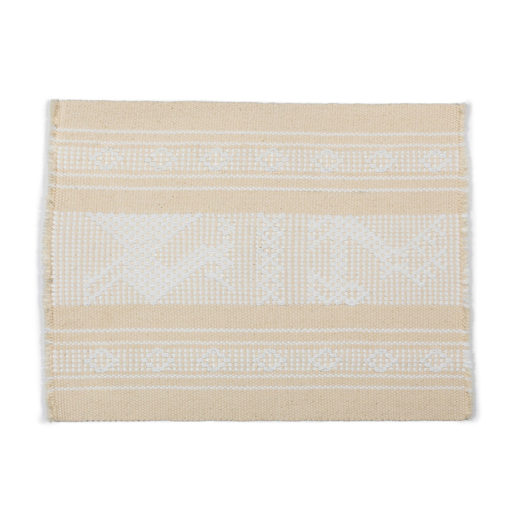 Cream & White Oaxacan Placemats