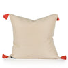 Emily Woven Tasseled Pillow Back