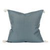 Gisele Woven Tasseled Pillow Back