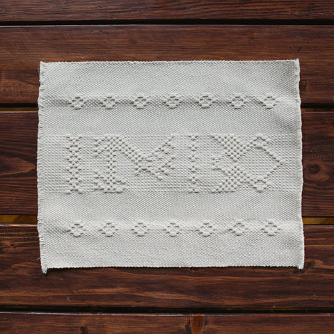 Cream Oaxacan Placemat