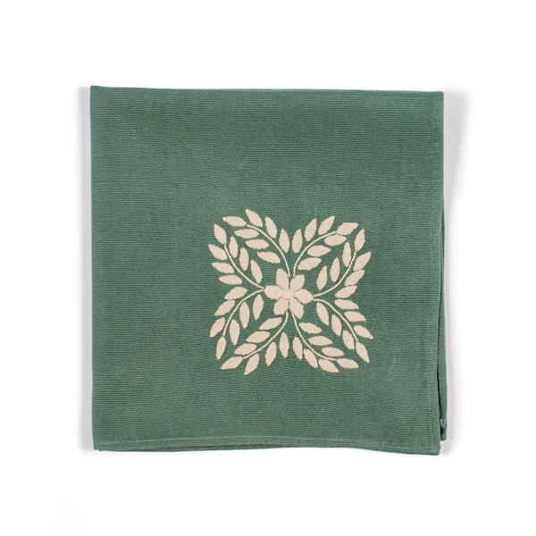 Vivian Sage Dinner Napkins by Algeria Home