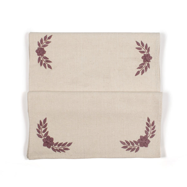 Vivian Plum Table Runner