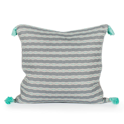 Kopal Woven Tasseled Pillow